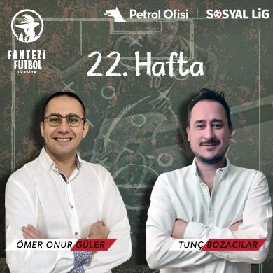 PO Sosyal Lig TV'deyiz!!! 22.Hafta Öneri Videomuz