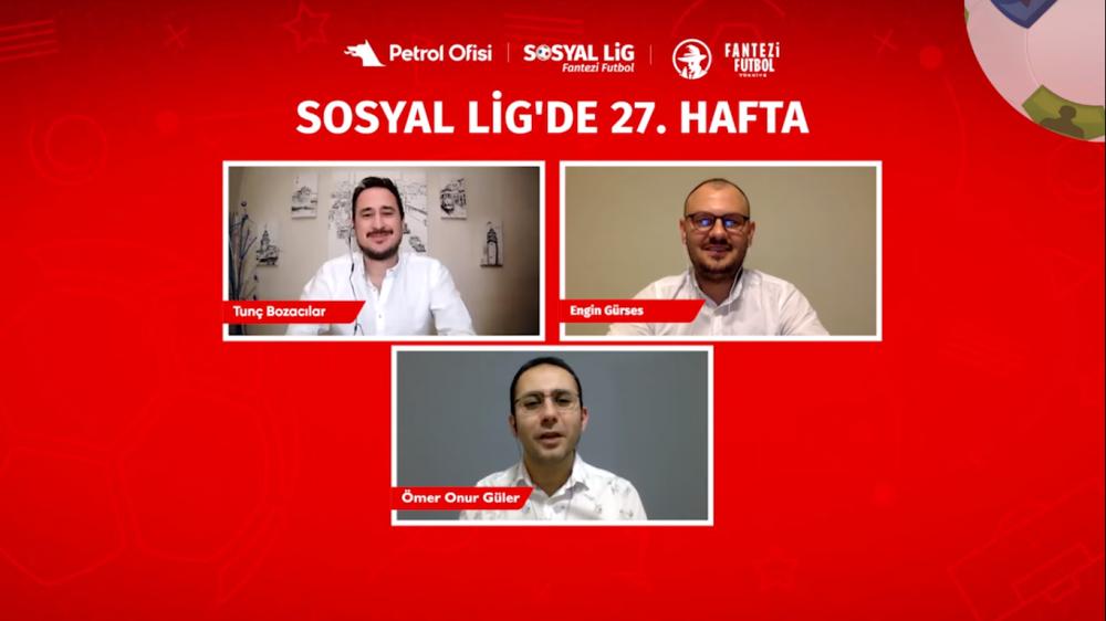 PO Sosyal Lig TV'deyiz!!! 27.Hafta Öneri Videomuz