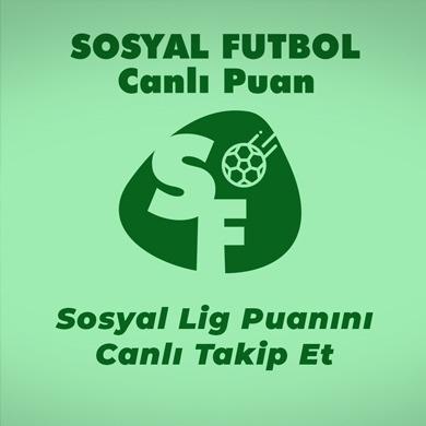 Sosyal Futbol Canlı Puan