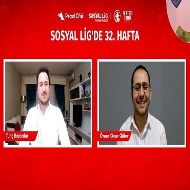 PO Sosyal Lig TV'deyiz!!! 32. Hafta Öneri Videomuz