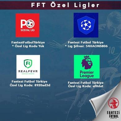 Fantezi Futbol Türkiye Özel Ligler